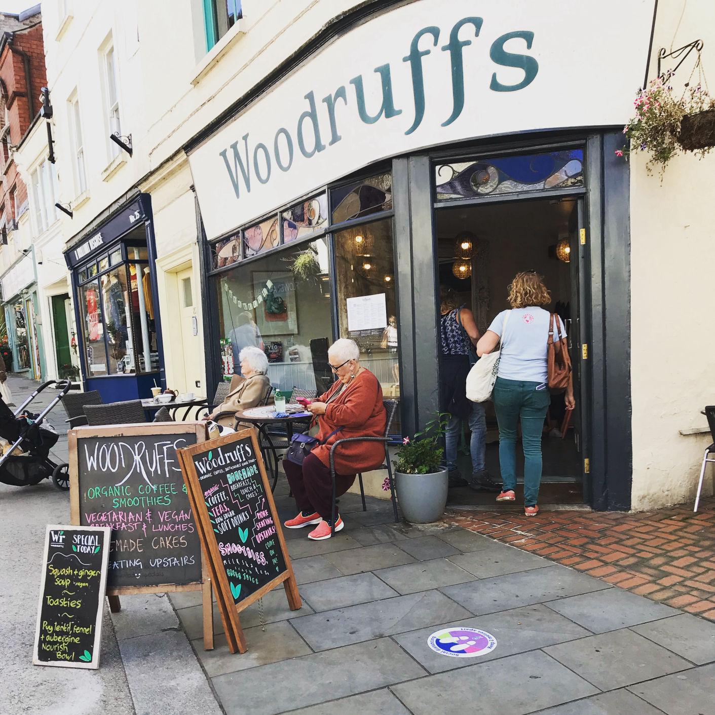 Woodruffs shop front